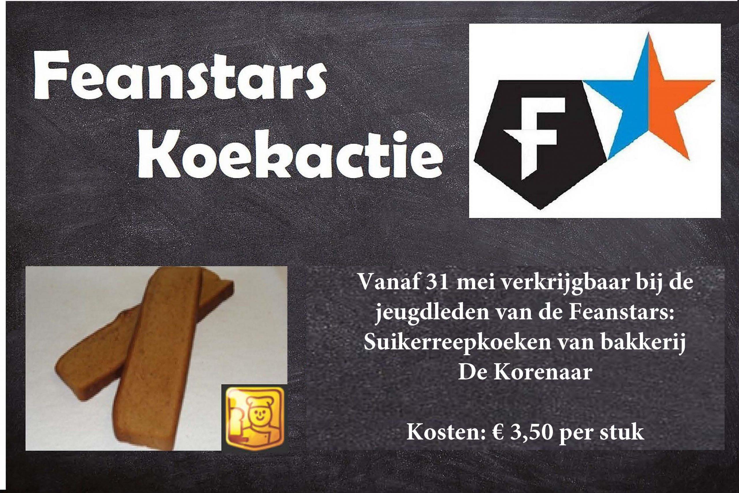 Koekactie SJO Feanstars